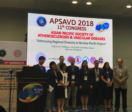 Делегация ИНАТприняла участие в работе 11th Congress of the Asian-Pacific Society of Atherosclerosis and Vascular Diseases